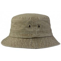 Stetson Bucket Delave Organic Cotton, green