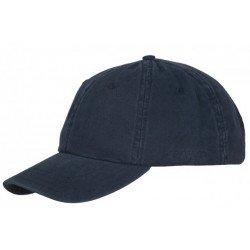 Stetson Casquette Baseball Coton Bleu Marine