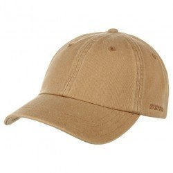 Stetson Baseball Cap Cotton Camel