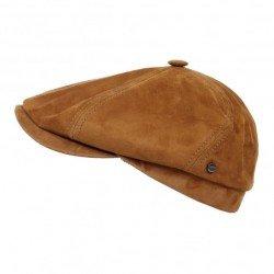 Stetson casquette hatteras Suede marron