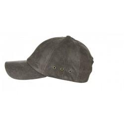 Stetson casquette de Baseball cuir - Chapellerie ile de Ré