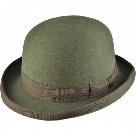 Chapeau Melon vert olive