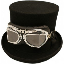 Top Hat with googles