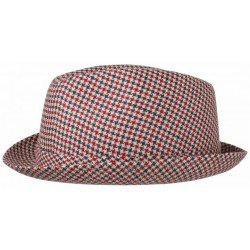 Stetson Player red Linen and Cotton