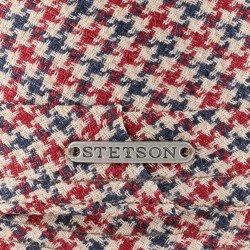 Stetson Player red Linen and Cotton - Chapellerie ile de Ré