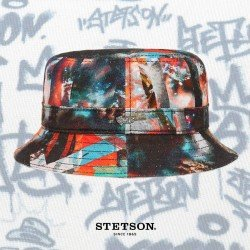 Stetson Bucket Cotton Multicolor - Chapellerie ile de Ré