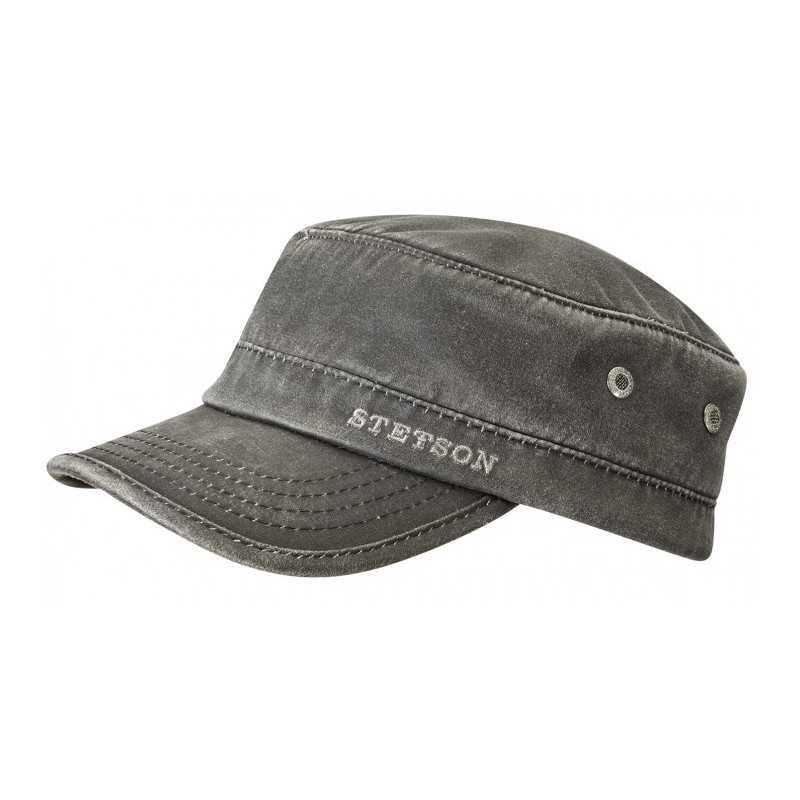 55e8efc7 Hat shop, France. Stetson Army cap black 59,00 €