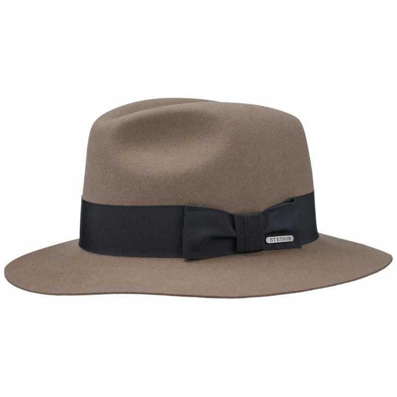 613558b678d Stetson Traveller Furfelt brown
