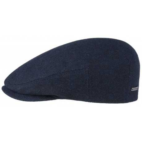 Stetson Classic Flat Cap with Cashmere