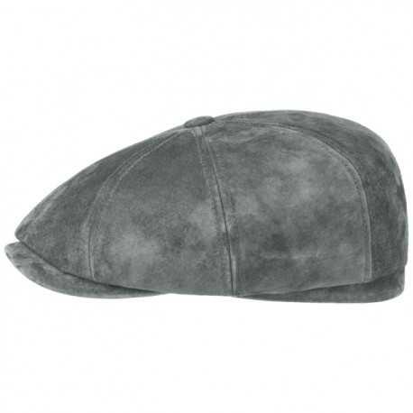 Stetson leather cap Nubuck - Chapellerie ile de Ré