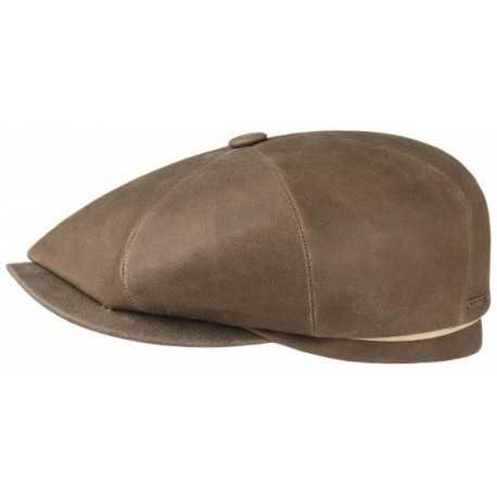 84633d2c35ee2 Stetson cap hatteras lamb leather
