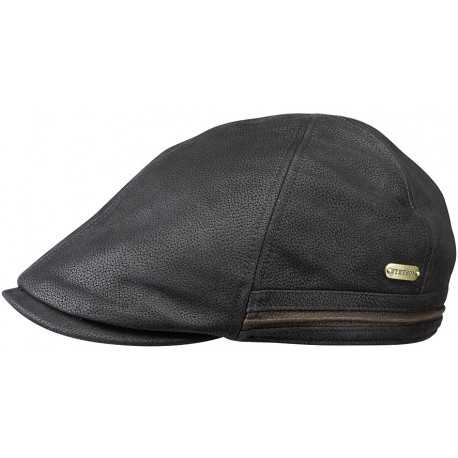 Stetson Duck Cap Cowhide black