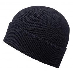 Stetson beanie Merino blue navy wool