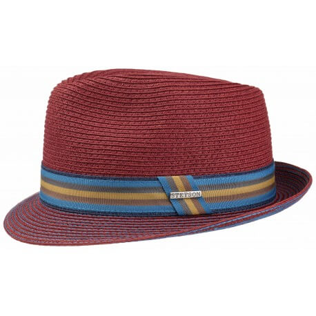 Stetson Trilby Toyo rouge