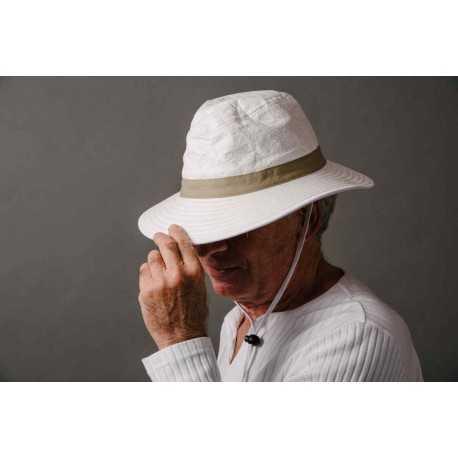 Soway Chapeau mixte « Naturel » moyen bord anti-UV
