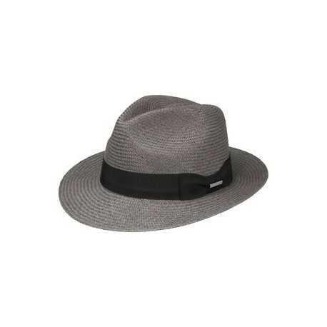 Stetson Fedora panama gris