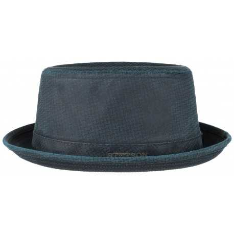 Stetson Pork Pie Embossed CO/PE
