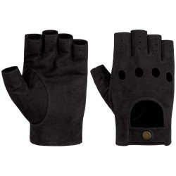 Stetson gloves goat nubuck black