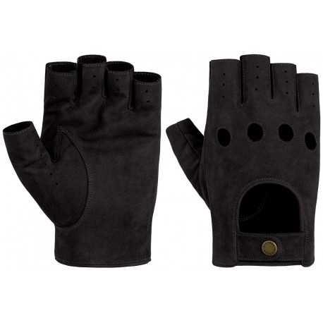 Stetson gloves goat nubuck black - Chapellerie ile de Ré
