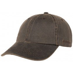 Stetson baseball cap Co/Pes brown