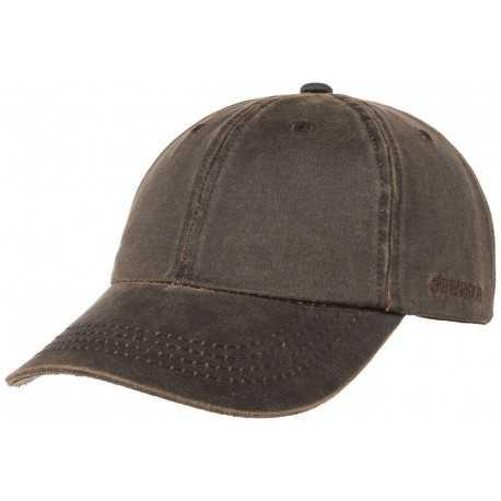 Stetson casquette baseball Co/Pes marron
