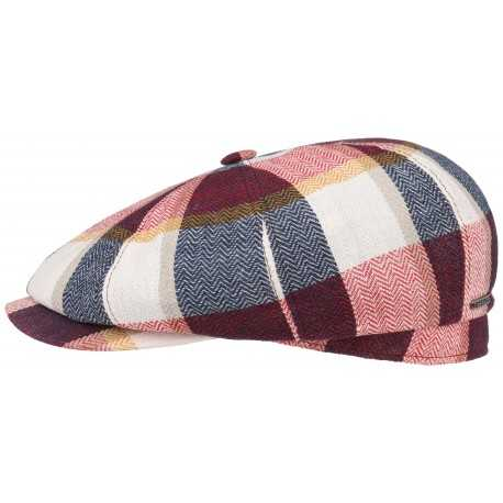 Stetson cap Hateras Herring Check linen