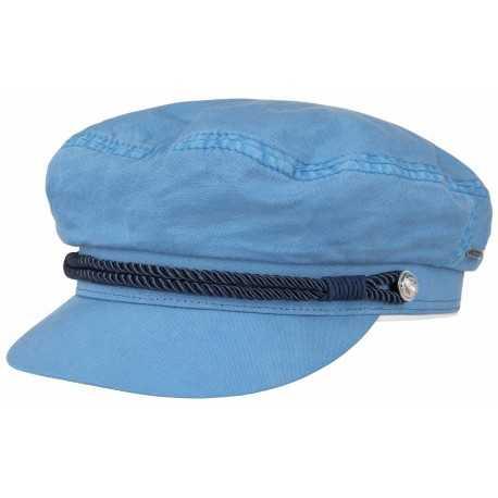 Stetson casquette marin Dyed bleu
