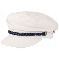 Stetson casquette marin Dyed blanc