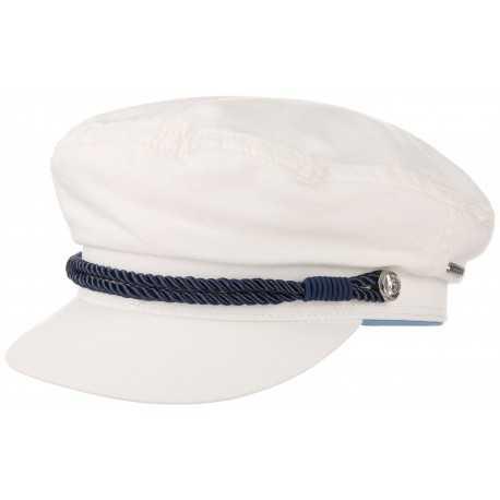 Stetson sailor cap Dyed white - Chapellerie ile de Ré
