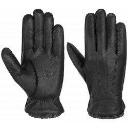 Stetson Gloves Deer - Cashmere black - Chapellerie ile de Ré