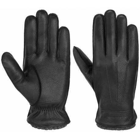 Stetson Gloves Deer - Cashmere black