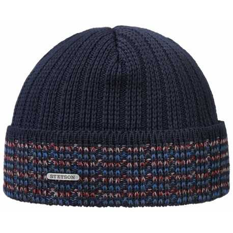 Stetson beanie wool and acrylic