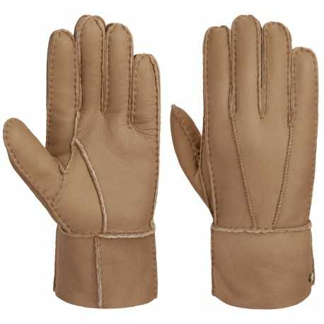 Stetson gants de fourrure d'agneau