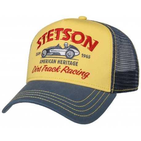 Stetson cap Trucker Racing - Chapellerie ile de Ré