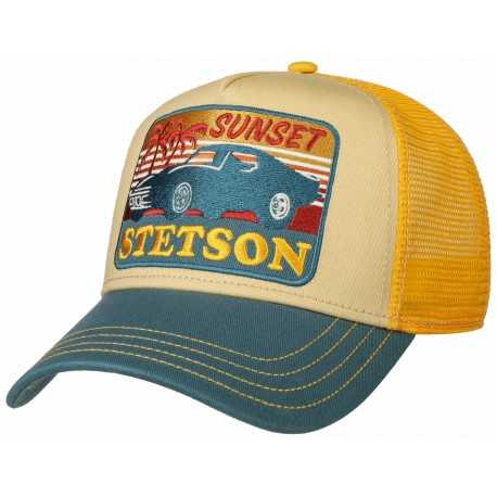 Stetson cap Trucker Sunset