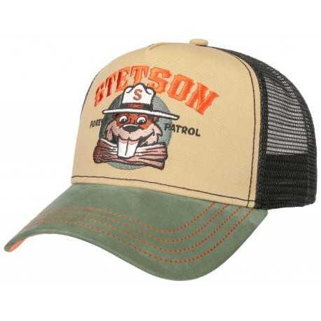 Stetson casquette Trucker Forest Patrol