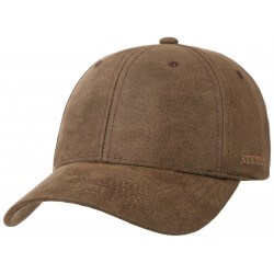 Stetson baseball cap Stamptonl brown - Chapellerie ile de Ré