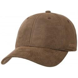 Stetson casquette baseball marron Stampton