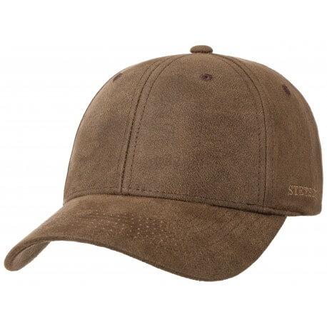 Stetson cap baseball co/pes brown