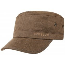 Stetson Army cap brown copes