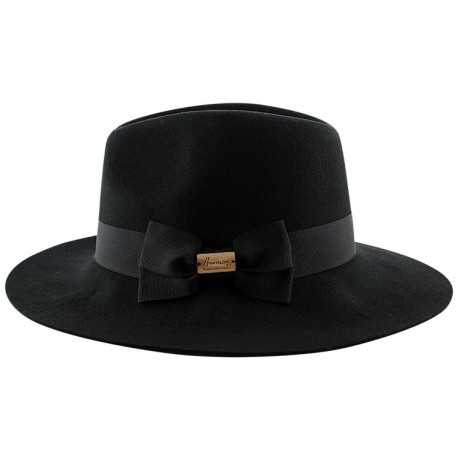 Herman Fedora Garbo black