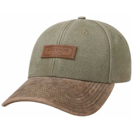 Stetson cotton baseball cap
