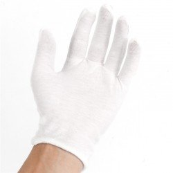White gloves 100% cotton