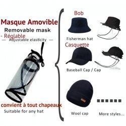 Hat Face shield - Chapellerie ile de Ré