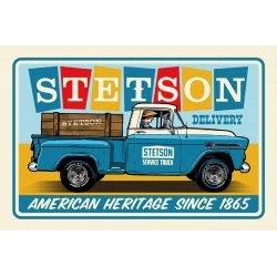 Stetson plaque métallique pickup Chevrolet