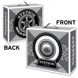 Stetson hat carton box - Chapellerie ile de Ré