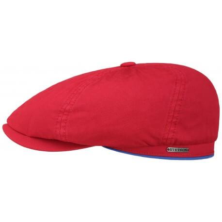 Stetson Brooklyn cap cotton and linen anti UV