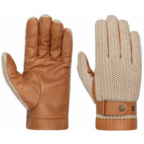 Stetson gloves nappa and knit
