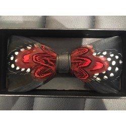 Feather bow tie number 12 - Chapellerie ile de Ré