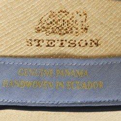 Stetson Fedora Panama handmade - Chapellerie ile de Ré